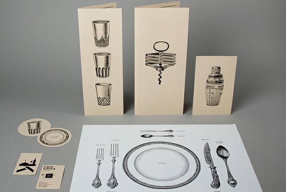 cartas de menú